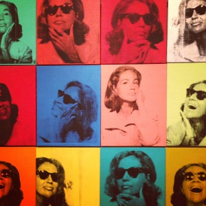 Andy Warhol's, Ethel Scull 36 Times, 1963.