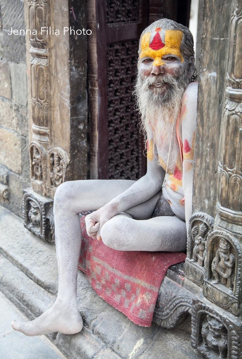 sadhu white