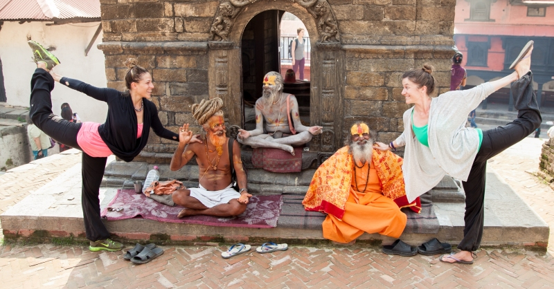 two yogis and sadhus 2