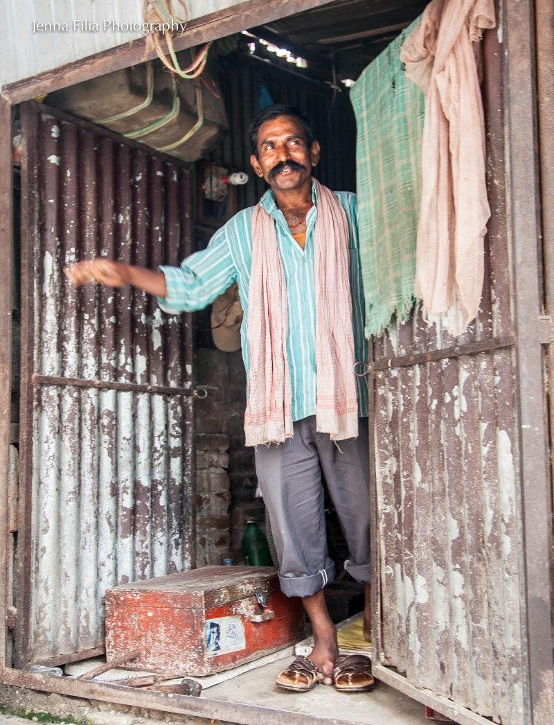 man in doorway-324