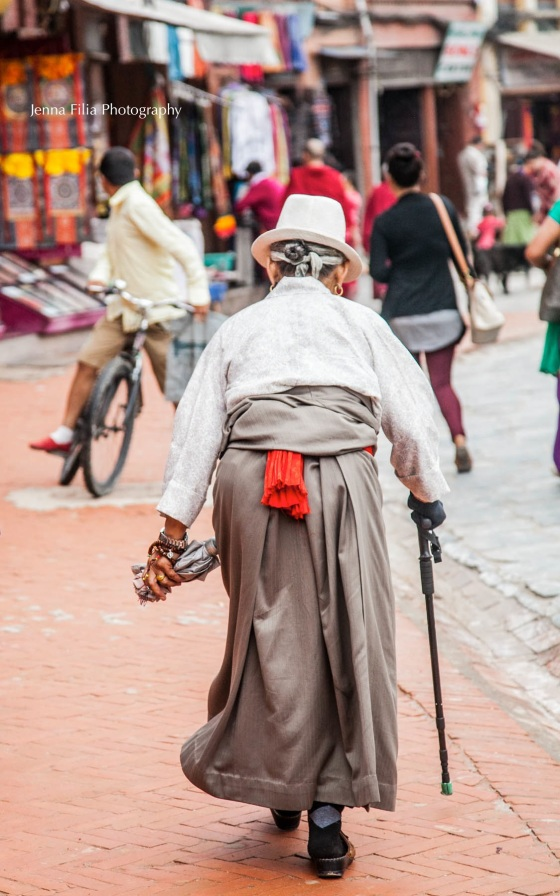 old woman, cane, in street2 (1 of 1)